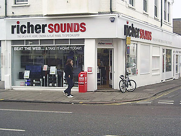 Richer Sounds Cambridge