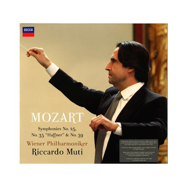 Image of Audiophile Vinyl Mozart - No. 25, 35 & 39