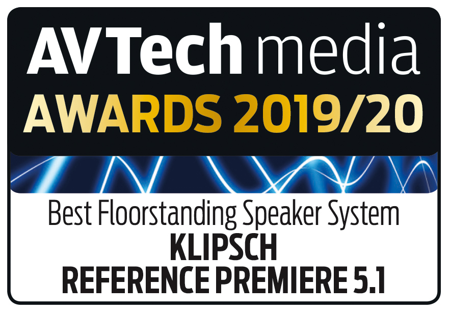 Klipsch Reference Premiere 5.1, AV Tech Media, December 2019