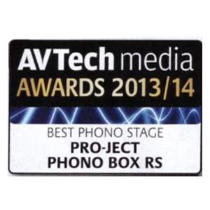 Pro-Ject Phono Box RS, AV Tech Media Awards, 2013/14
