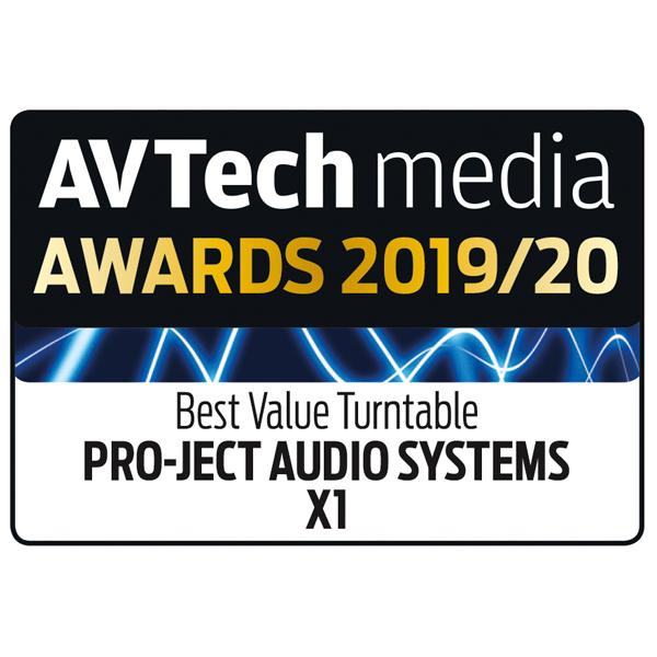 Pro-Ject X1, AV Tech Media, December 2019