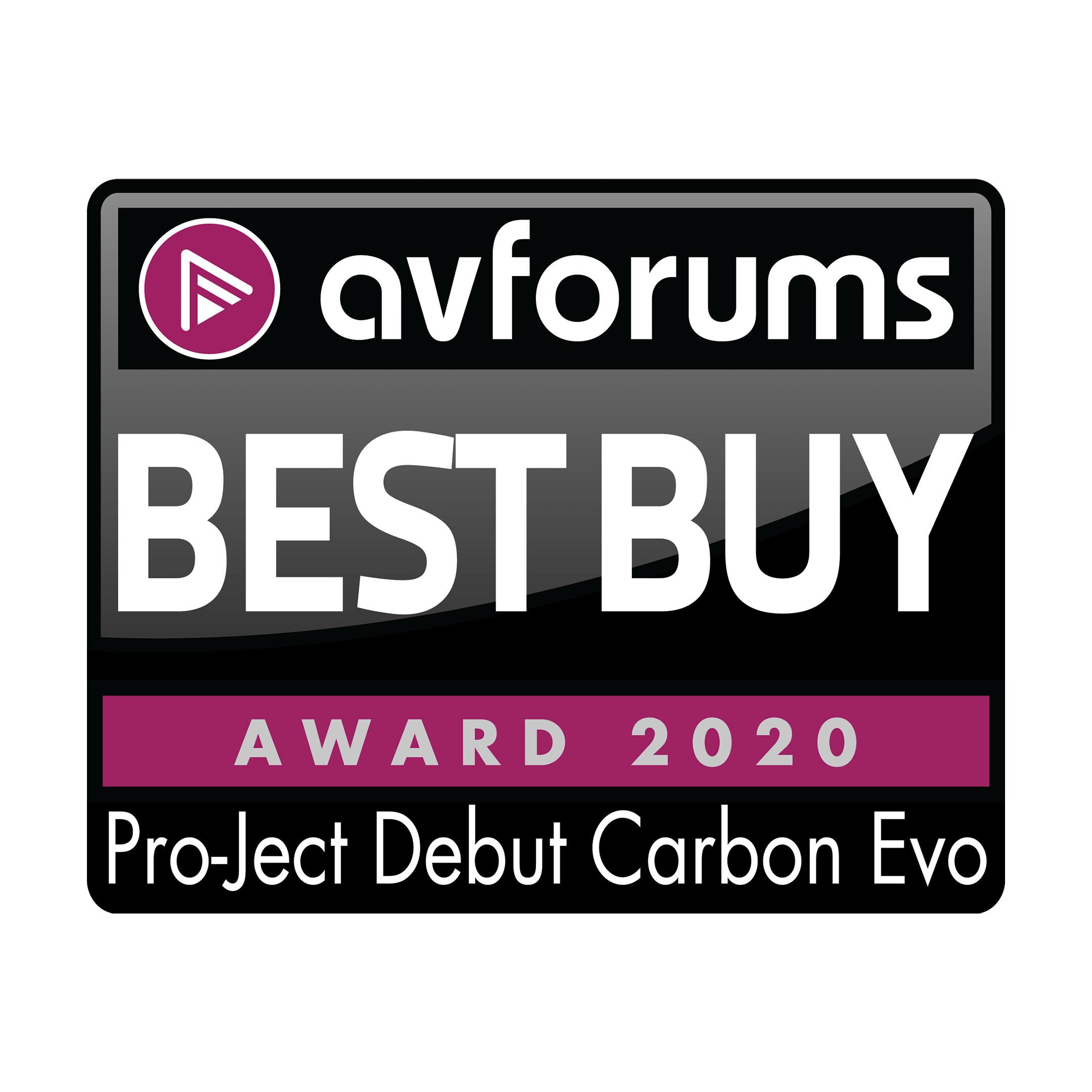Pro-Ject Debut Carbon Evo, AvForums, Nov 2020
