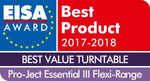 Pro-Ject Essential III, EISA Awards Review, 2017