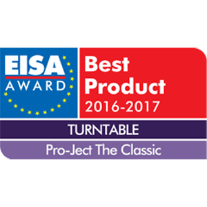 Pro-Ject The Classic, EISA Awards 2016