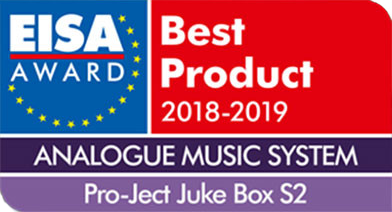 Juke Box S2, EISA, 2018