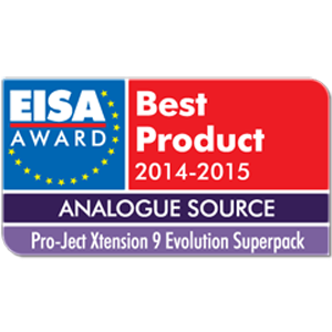 Pro-Ject Xtension 9, EISA Awards 2014