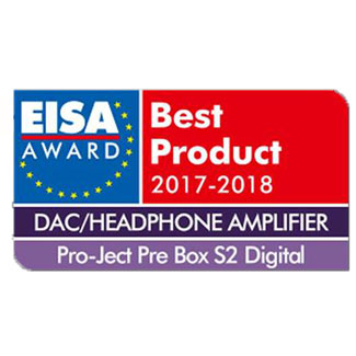 Pro-Ject Pre Box S2 Digital, EISA Awards, 2017
