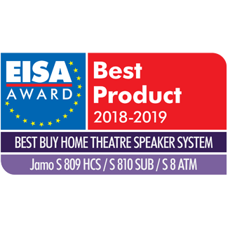 Jamo Studio 8, EISA Awards, 2018