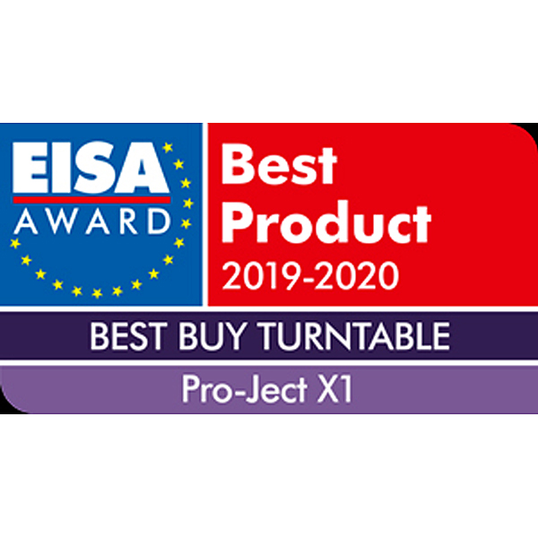 Pro-Ject Audio Systems X1, EISA, 2019