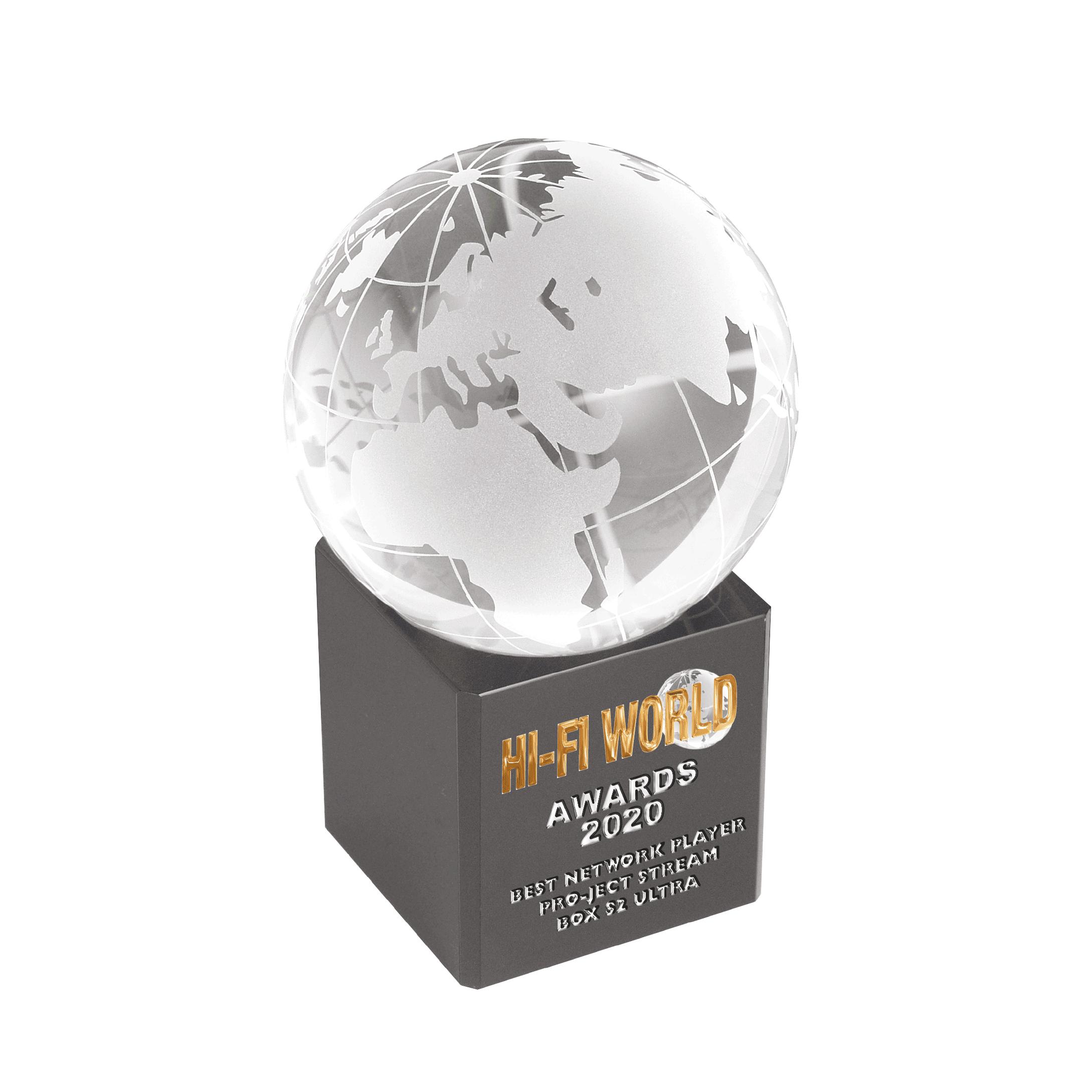Pro-Ject, Stream Box S2 Ultra, HiFi World Award, 2020
