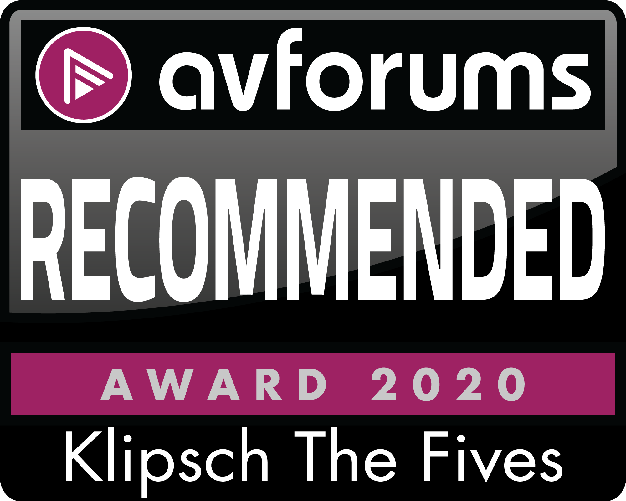 Klipsch The Fives, AV Forums, September 2020