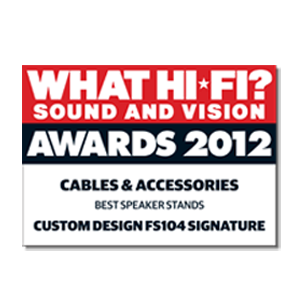Custom Design FS104 Signature, What Hi-Fi?, Award 2012